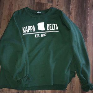 Tops - KD cropped sweatshirt